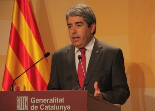 The Catalan Government's Spokesperson on Tuesday (by P. Mateos)