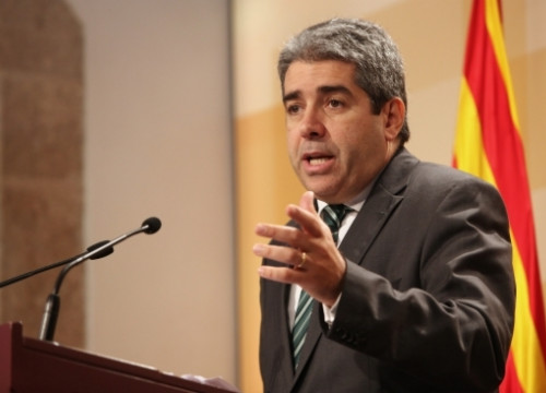 The Catalan government spokesman and member of the CiU, Francesc Homs (by ACN)