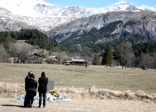 The French Alps mountain, where the Germanwings aircraft crashed (by G. Sánchez)