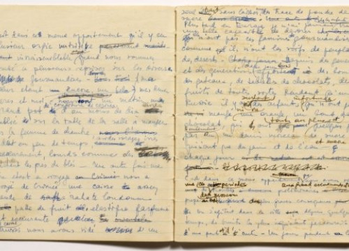 The original notebook from Gala Dalí (by Gala-Salvador Dalí Foundation)