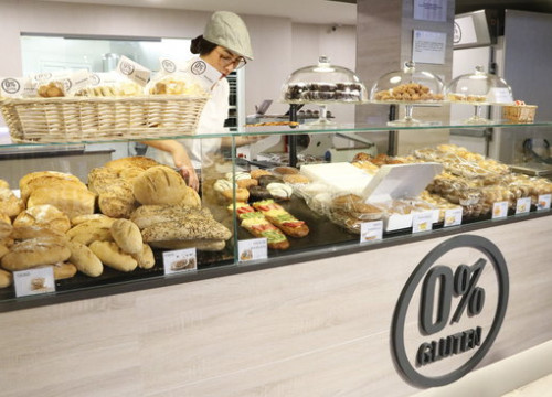 0% Gluten bakery chain (by Laura Busquets)