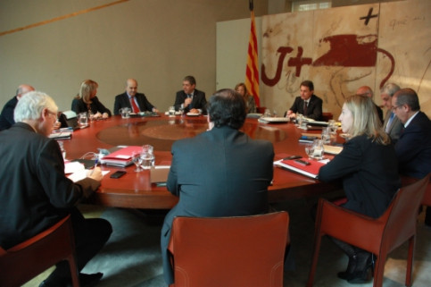 The last Catalan Government's Cabinet Meeting (by E. Rosanas)