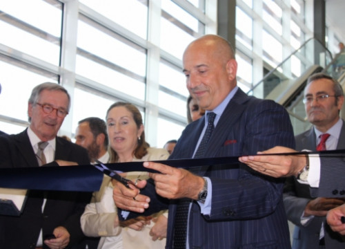 The opening ceremony of Grimaldi's new terminal in Barcelona (by J. Molina)