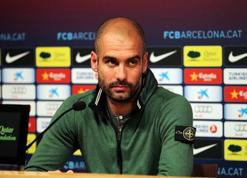 Barça Manager, Pep Guardiola, on Friday's press conference (by FC Barcelona)