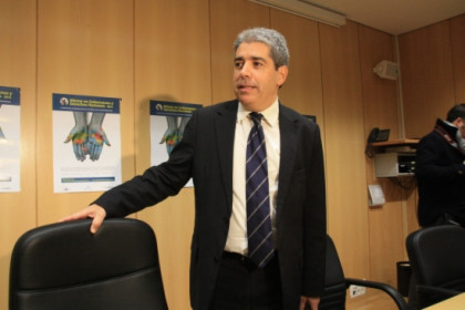 Francesc Homs on Friday in Madrid's Universidad Autónoma (by R. Pi de Cabanyes)