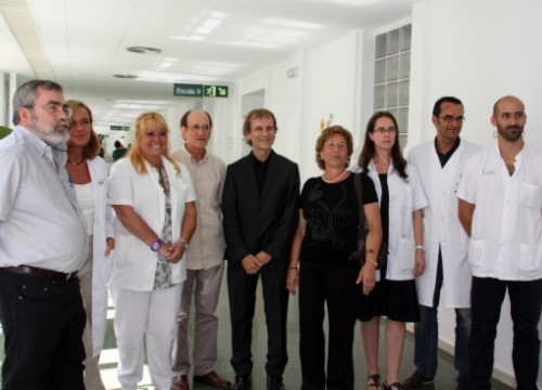The doctors and the two donors (by ACN)