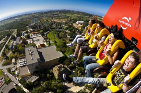 The Hurakan Condor attraction in PortAventura theme park (by PortAventura)