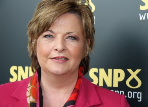 Fiona Hyslop, at the SNP Conference (by L. Pous)