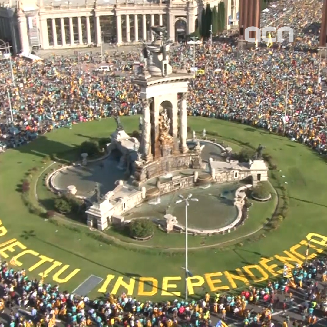11-Sep-19 TV News in 100 Seconds: '600,000 demand independence in Barcelona on National Day'