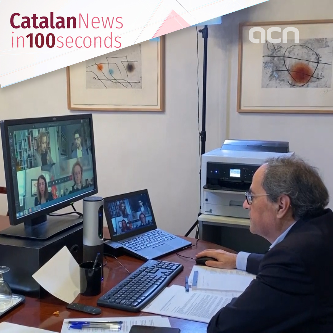 08-Apr-20: 'Catalan government urges Spain to extend total lockdown'