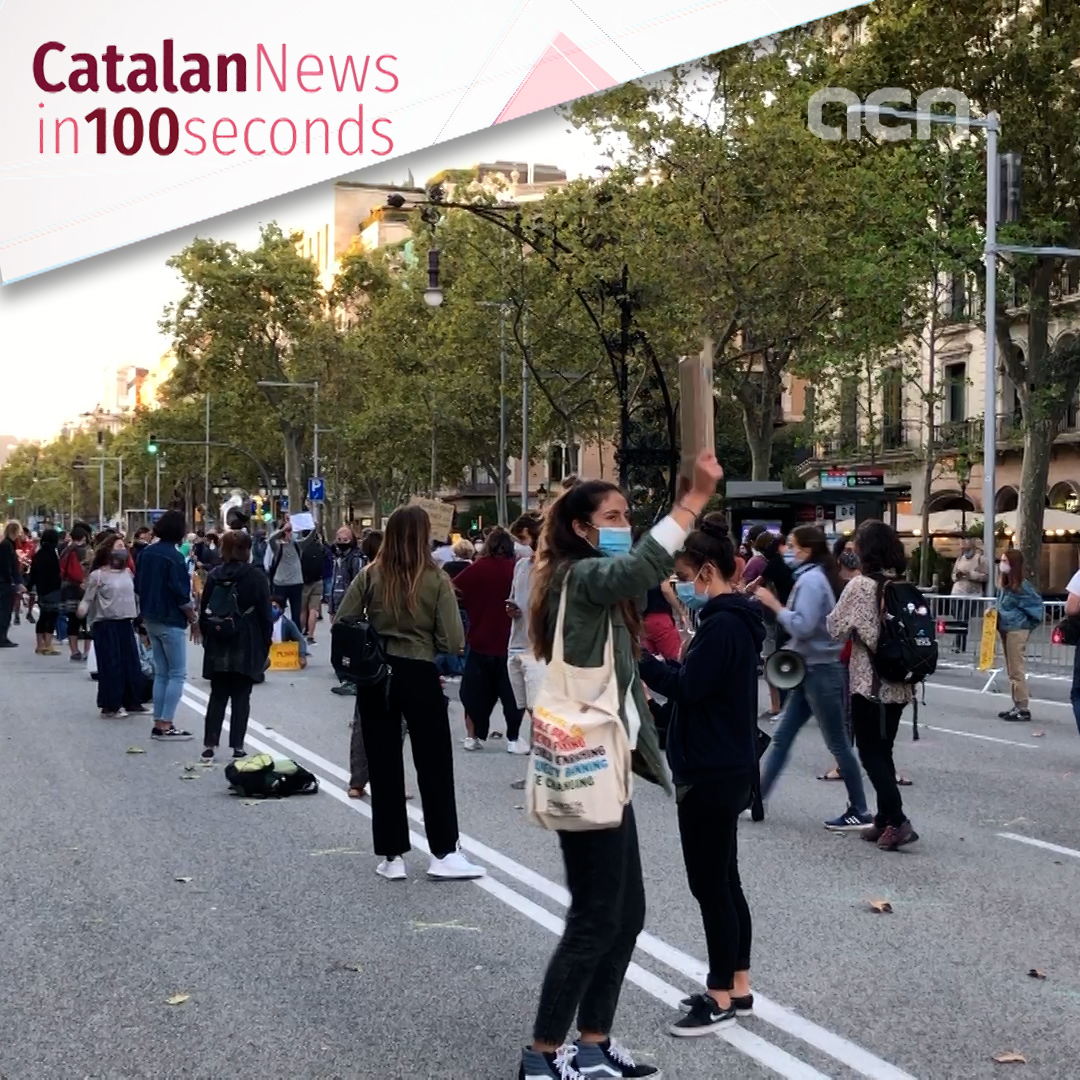25-Sep-20: 'Hundreds participate in Fridays for Future protests throughout Catalonia'