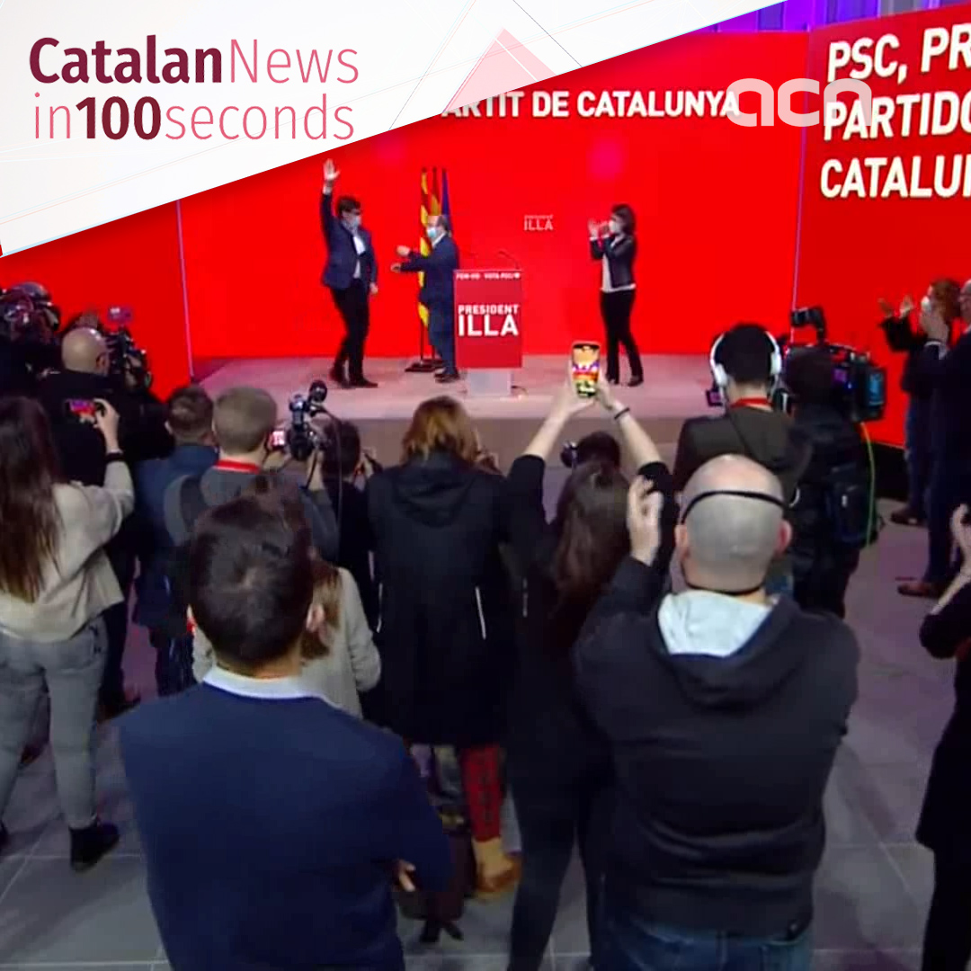 Catalan election: Socialists & ERC tie on historic night with pro-independence vote surpassing 50%