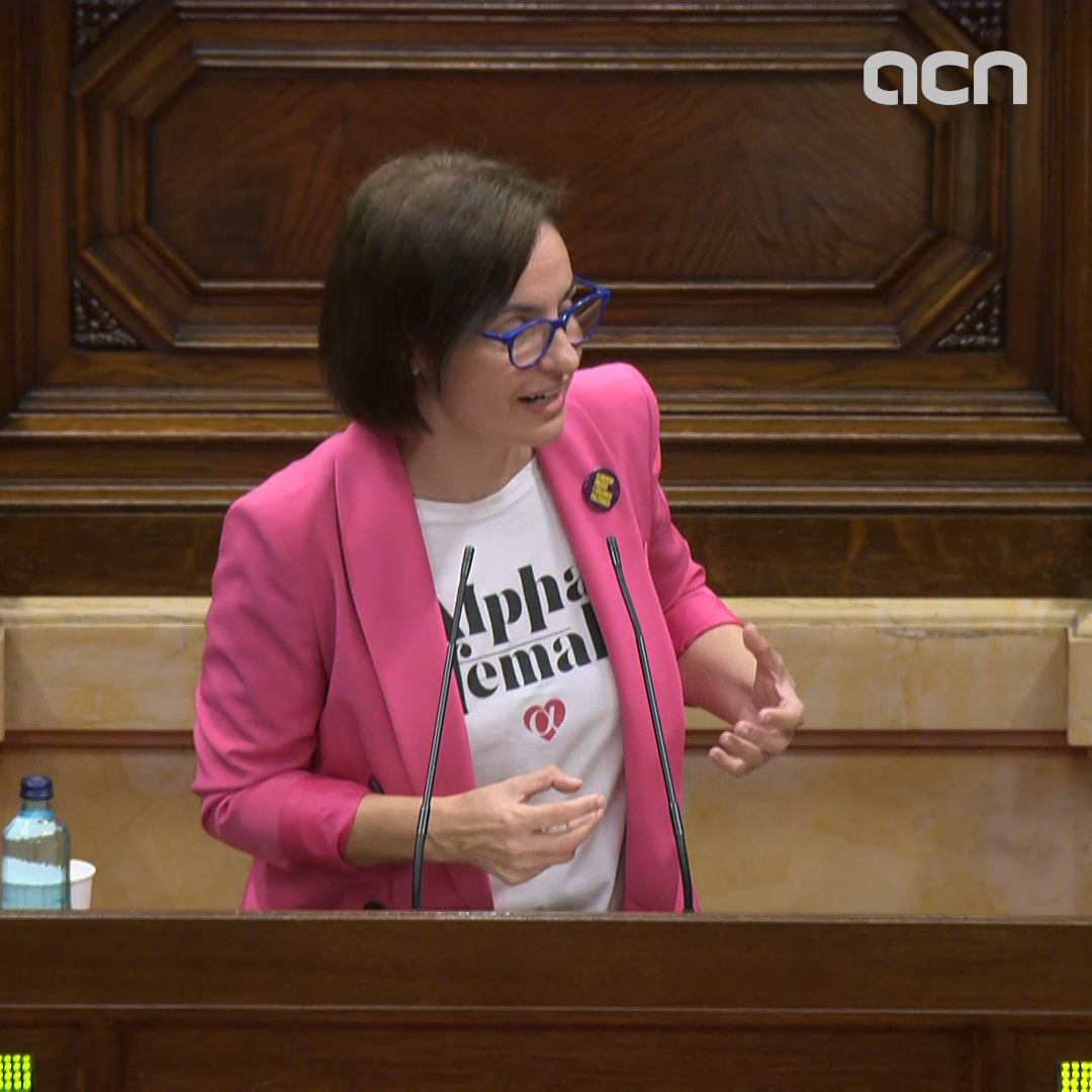 Anna Caula of Esquerra Republicana says centralization 'is never the best way forward'