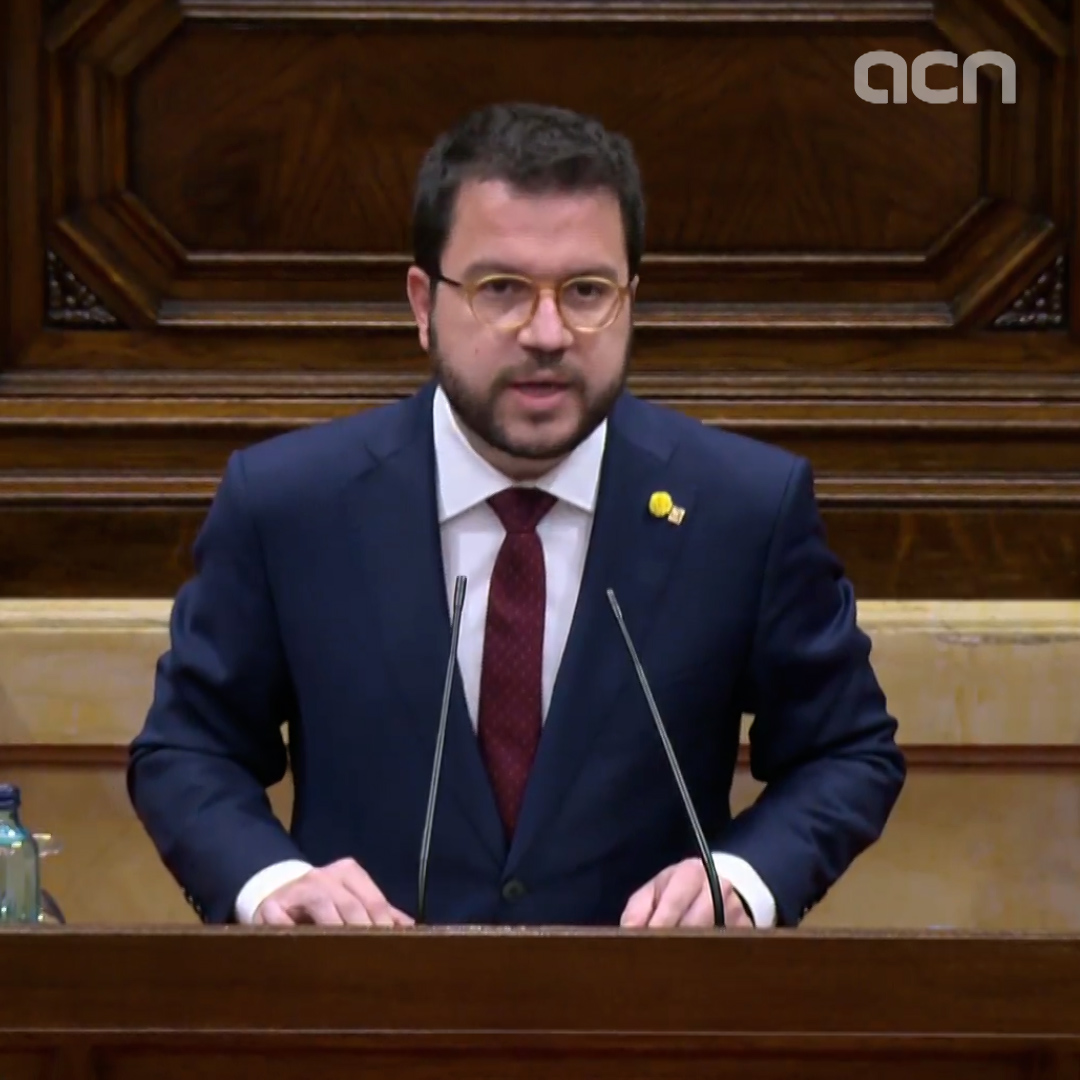 'Catalonia has no president until this parliament elects one,' says Pere Aragonès