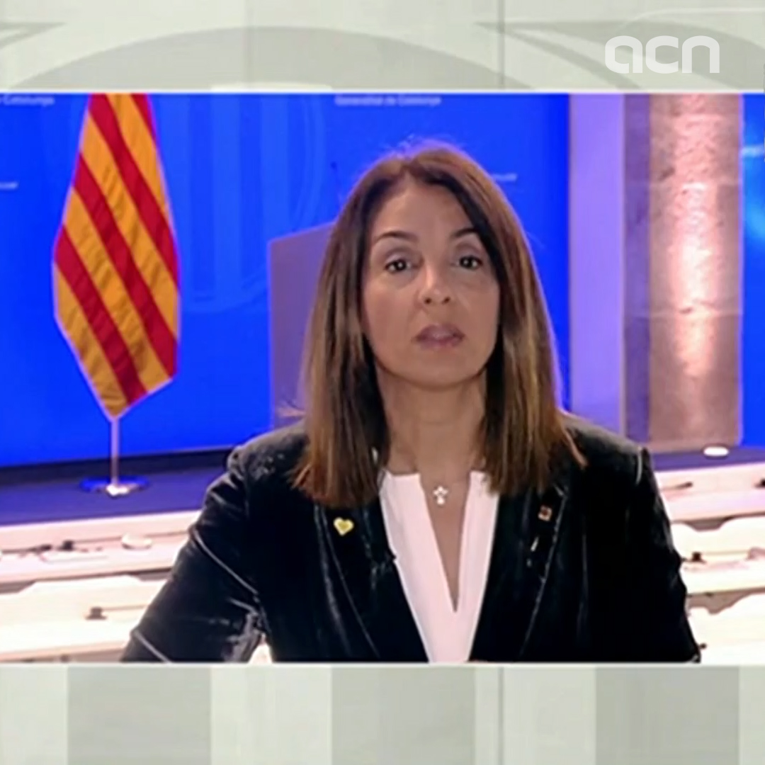 Catalan government spokesperson says everyone should 'have access to necessary self-protection tools'
