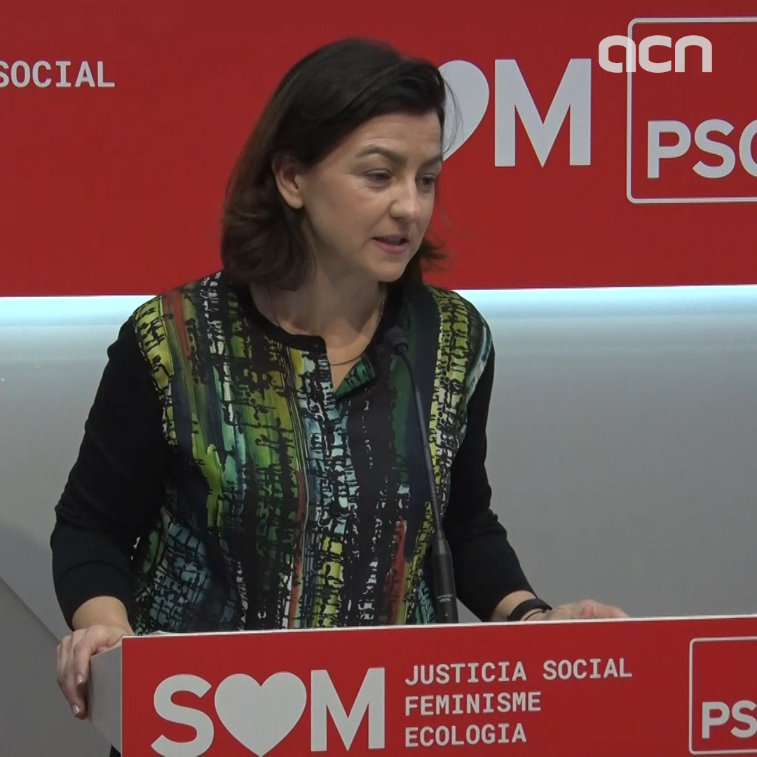 Socialist MP Eva Granados: 'Without a Spanish budget, any Catalan budget is a paper tiger'