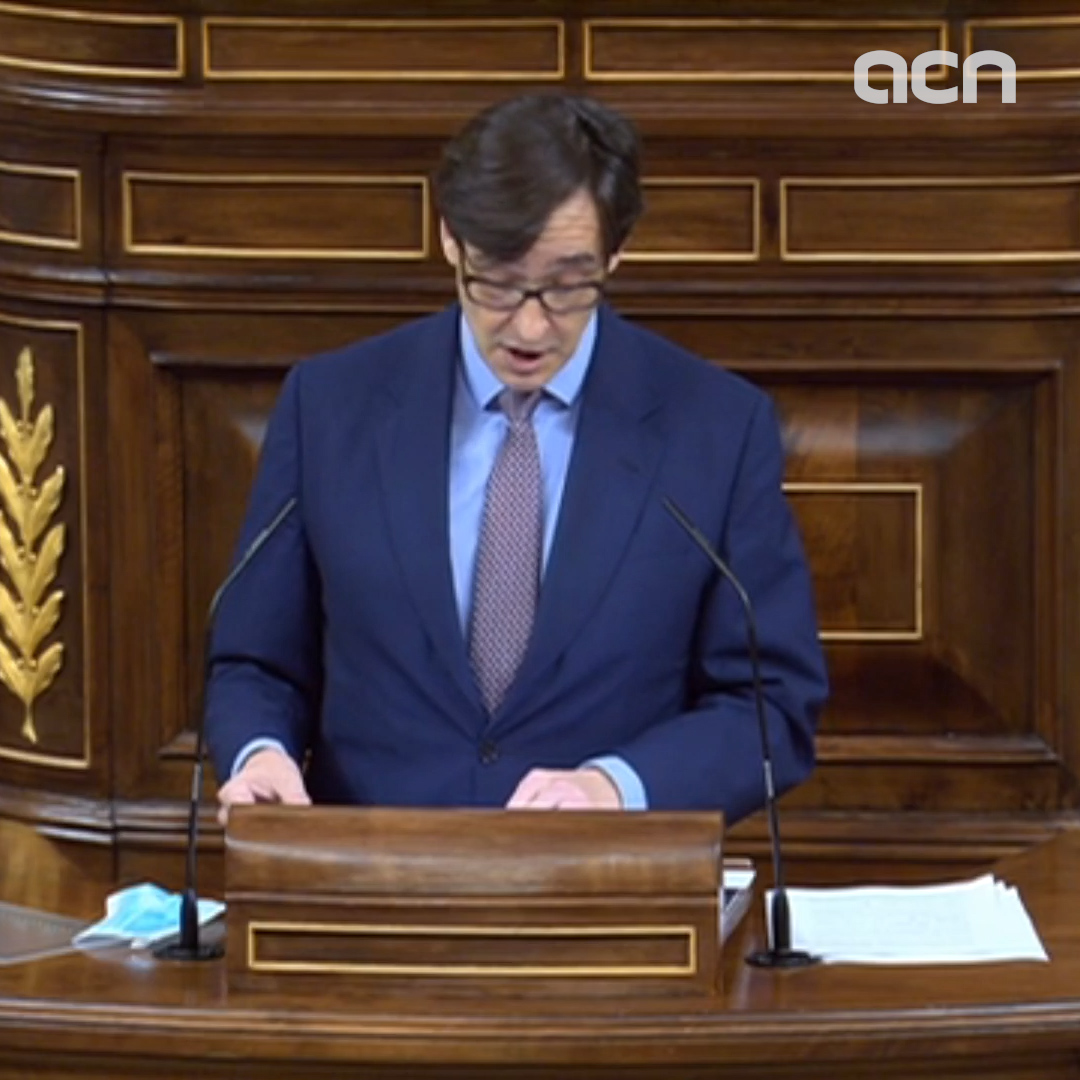 Spain's health minister thanks regions for Covid efforts