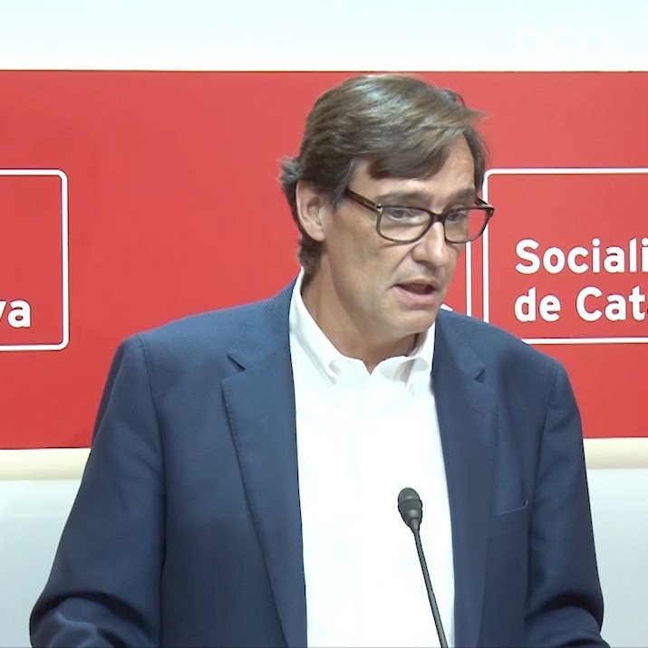 PSC's Salvador Illa wants Esquerra to recognize the deal between his party and JxCat