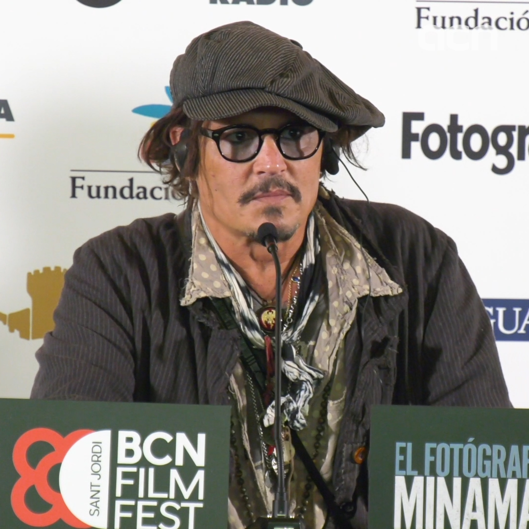 Johnny Depp jokes about extending his stay in Barcelona