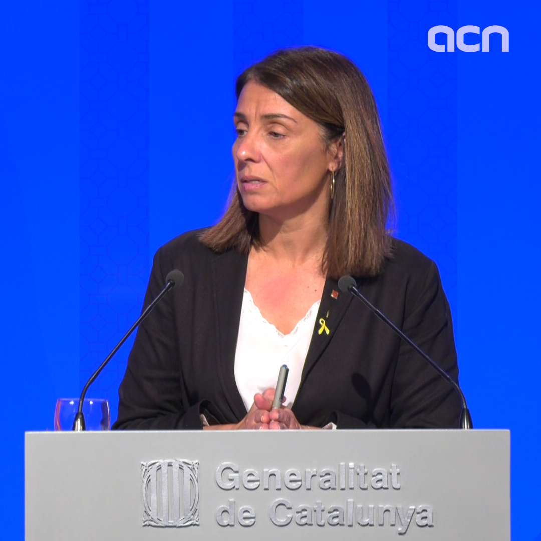 Catalan government spokesperson regrets Socialists and Podemos did not reach an agreement after April election