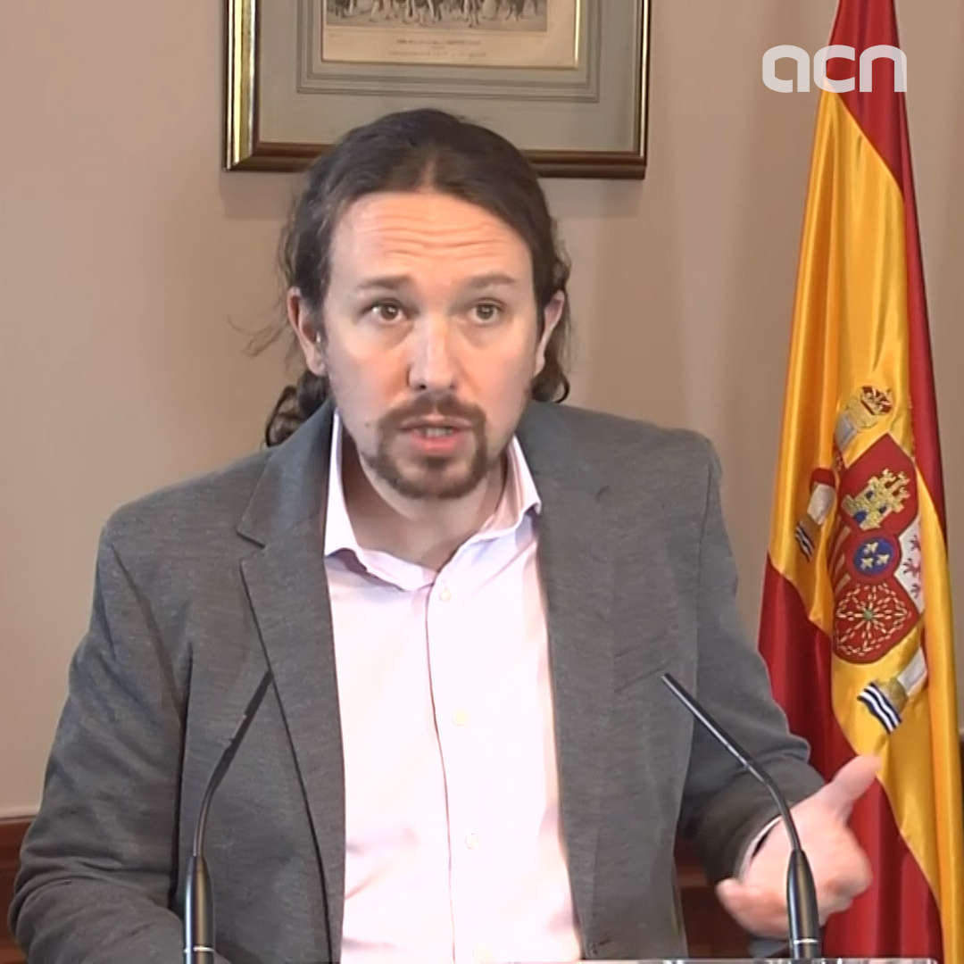 Podemos' Iglesias says his party and Socialists will seek support for coalition government