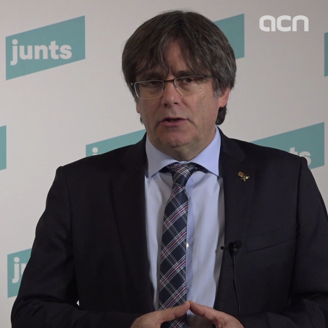 Puigdemont says he will not be JxCat's presidential candidate due to 'Spanish repression'