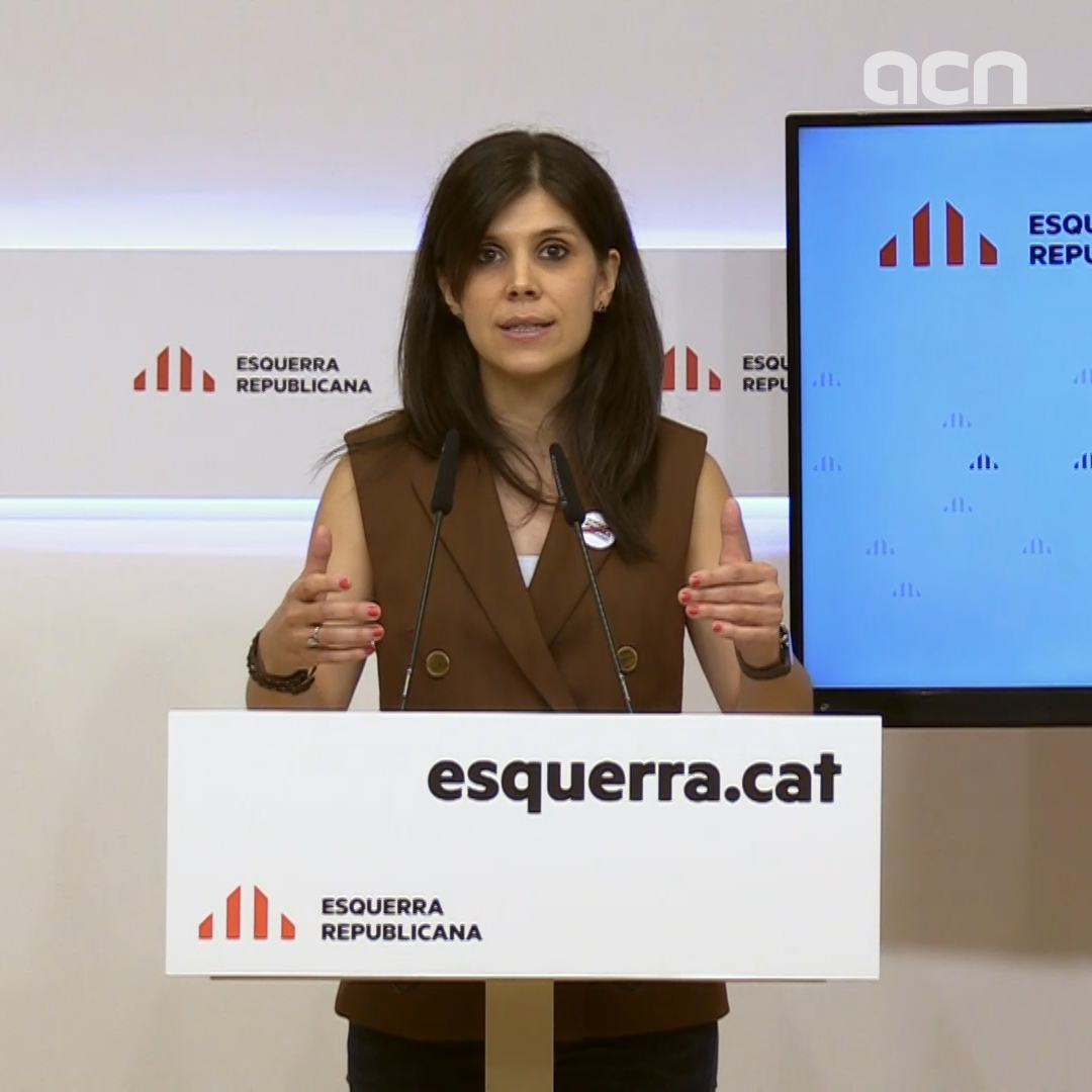 Marta Vilalta of ERC calls for 'common strategy' with JxCat