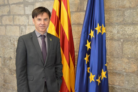 Newly appointed interim Catalan delegate in US, Isidre Sala. (Photo: Catalan government)