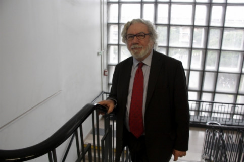 'Sciences Po' Professor Jean-Bernard Auby in Toulouse (by A. Recolons)