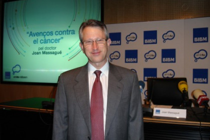 Archive picture of Catalan oncology researcher Joan Massagué (by ACN)
