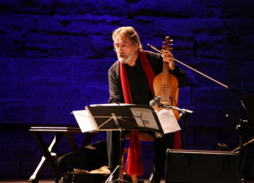 Jordi Savall in a recent concert (by R. Segura)