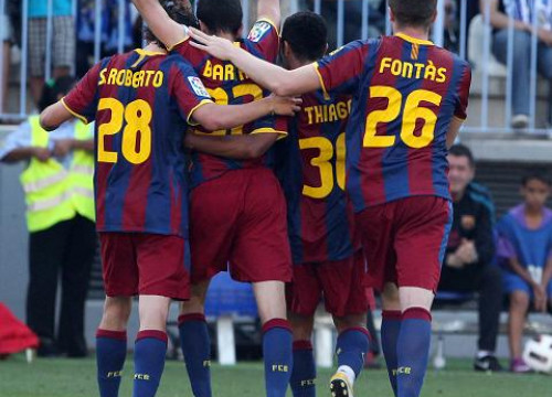 Young players from Barça closed the League season with a victory (by FC Barcelona)