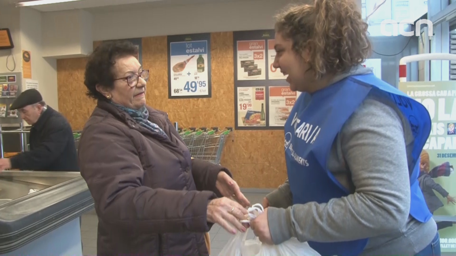 The Gran Recapte food drive for the homeless gets underway