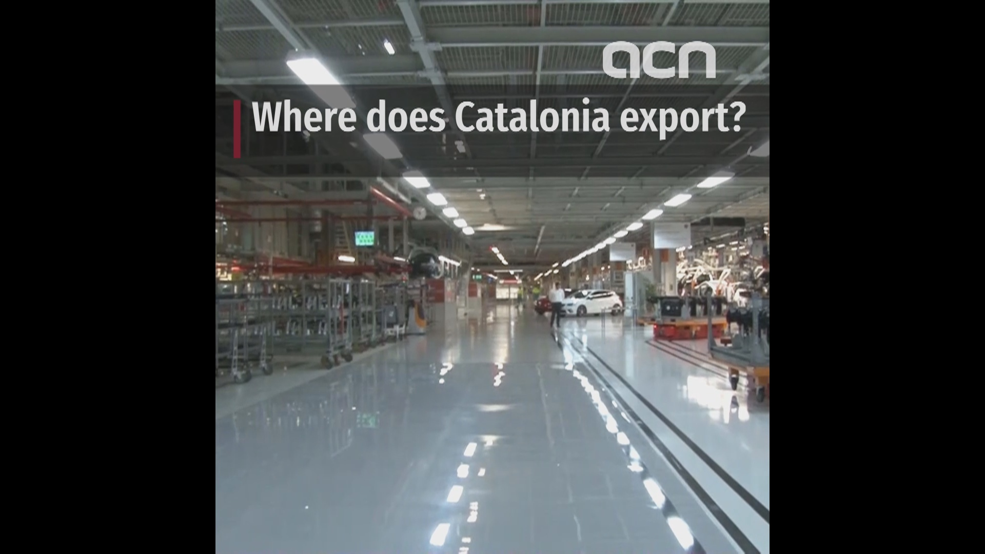 Catalan exports were on the rise in the first half of 2018