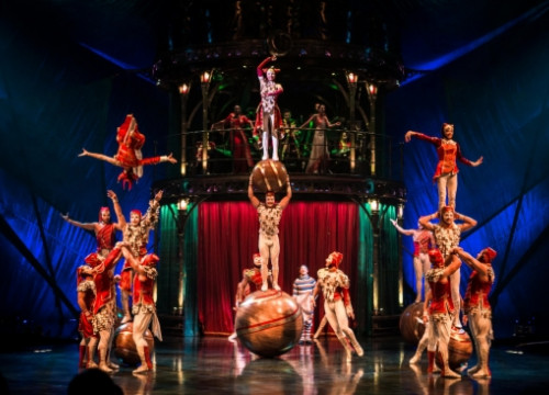 The Cirque du Soleil will perform the 'Kooza' show each day in PortAventura (by PortAventura)