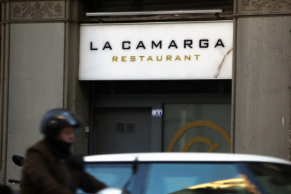 La Camarga restaurant, where the recorded conversation took place (by ACN)