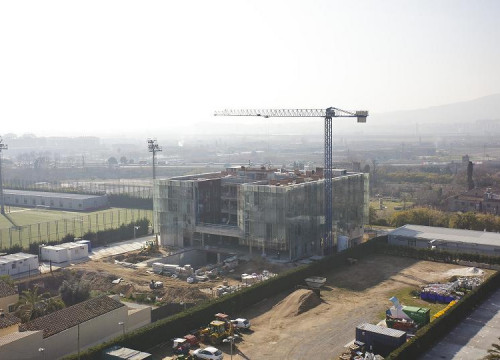 The new Masia's building to be ready in June (by FC Barcelona)