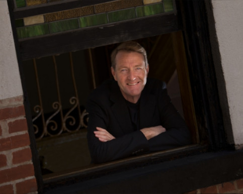 Lee Child, the artistic name of Jim Grant (by Gordon Trice)