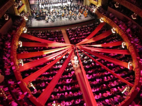 The Liceu Opera House during one of its performances (by ACN)