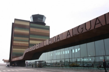 The Lleida-Alguaire airport terminal (by ACN)