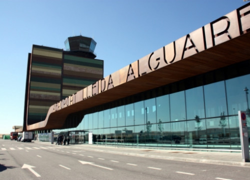 The terminal of Lleida-Alguaire Airport (by ACN)