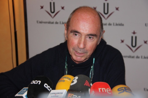 Lluís Llach will be heading the unitary pro-independence list 'Junts pel Sí' in Girona (by ACN)