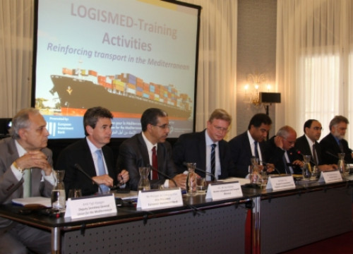 The presentation of the Logismed project in Barcelona (by M. Fernández Noguera)