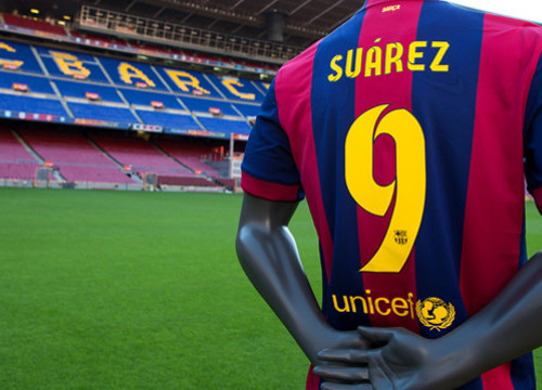 Luis Suárez will be allowed to train with his team mates and to be presented as new Barça player (by FC Barcelona)