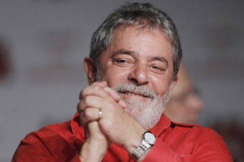 Lula da Silva has been awarded the 24th 'Premi Internacional Catalunya' (by Reuters / Marcelino Ueslei)