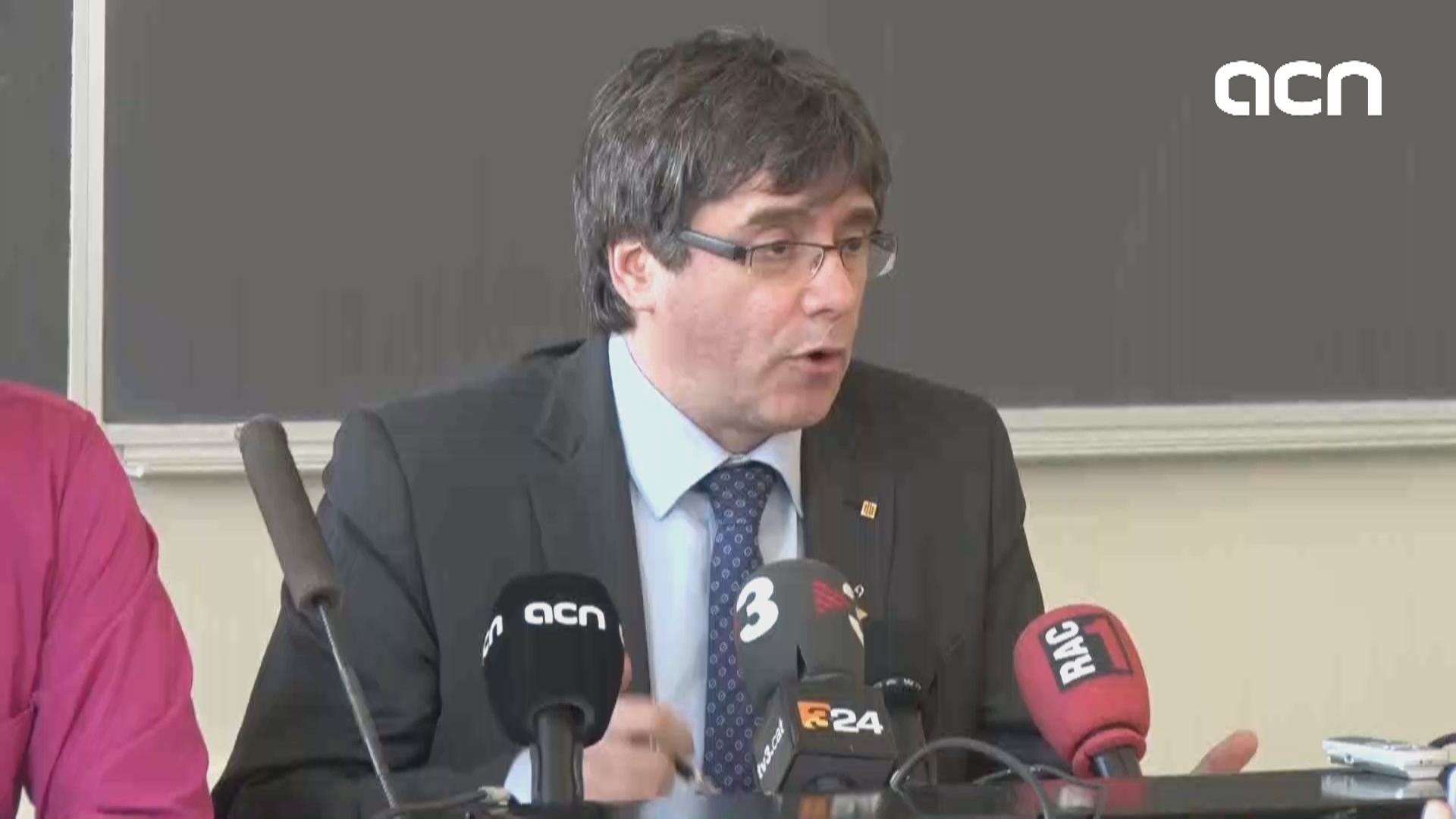 Puigdemont on his prosecution for rebellion and misuse of public funds