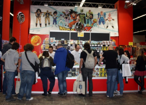 Visitors of the 19th edition of Barcelona's Manga Fair (by J.R. Torné)