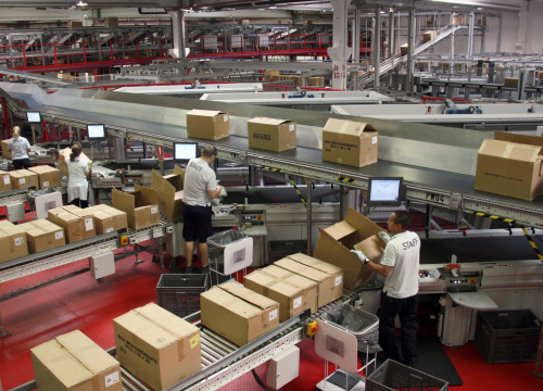 Mango's logistics centre in Catalonia, where the Catalan brand has its headquarters (by J. Pujolar)