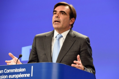 The European Commission's Spokesperson, Margaritis Schinas, on Monday (by EBS)