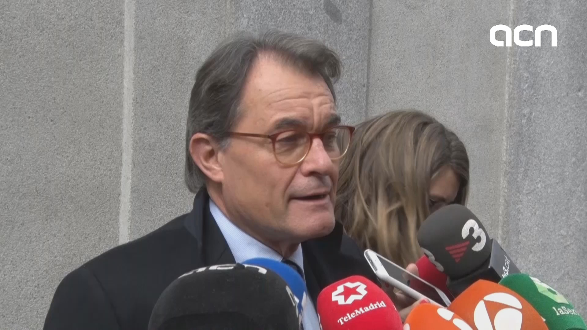 Artur Mas left the Supreme Court after a two-hour hearing